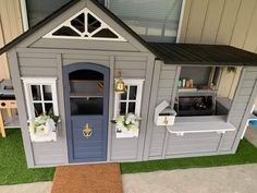 Kids Cubby Houses, Kids Cubbies, Play Houses, Backyard Playground, Backyard For Kids, Wendy House, Diy Playhouse, Big Girl Rooms, Home Additions