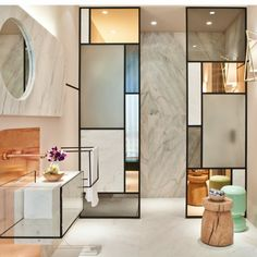 Modern Bathroom Interior Design Sophisticated Ideas For A Modern Marble Bathroom Design Modern Marble Bathroom, Modern Bathroom Design, Bathroom Interior Design, Kitchen Design, Kitchen Interior, Bathroom Designs, Marble Bedroom, Marble Interior, Stone Bathroom