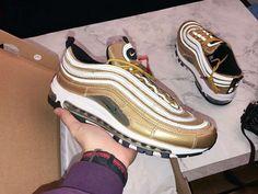 4acdb56ea nike air max 97 cr7 gold cristiano ronaldo aq0655-700 Play Shoes
