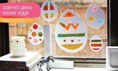 DIY FYI: Stained Glass Easter Eggs @ li'l magoolie