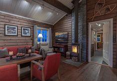 Roger's Hytteside - Den ferdige hytta New Homes, Merry, Cottage, House Design, Cabin, Home Decor, Style, Swag, Decoration Home
