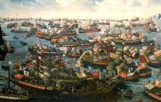 The Battle of Lepanto was a naval engagement taking place on 7 October 1571 in which a fleet of the Holy League, a coalition of European Catholic maritime states arranged by Pope Pius V and led by Spanish admiral Don Juan of Austria, decisively defeated the fleet of the Ottoman Empire on the northern edge of the Gulf of Corinth, off western Greece.