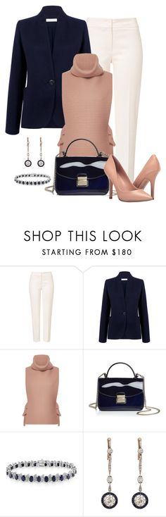 """""""Untitled #1414"""" by gallant81 ❤ liked on Polyvore featuring ESCADA, Atea Oceanie, Tome, Furla, Belk & Co. and Charles by Charles David"""