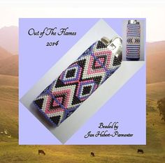Bead PATTERN Savannah Lighter Cover Peyote or от Outoftheflames