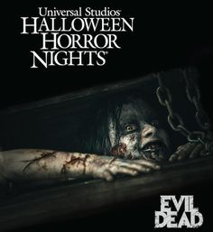 Universal Halloween Horror Nights announces 'Evil Dead' haunted house omggg TAKE ME Universal Studios Florida, Universal Orlando, Universal Halloween Horror Nights, Universal Studios Halloween, Attractions In Orlando, Haunted Attractions, Halloween Themes, Fall Halloween, Haunted Halloween