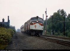 RailPictures.Net Photo: NH 2039 New York, New Haven & Hartford Railroad EMD FL9 at Mansfield, Massachusetts by Donald Haskel