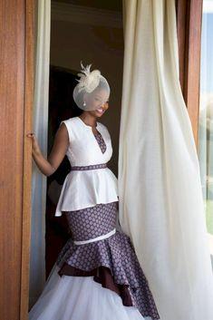 ♫ Shweshwe Wedding Dresses South Africa ♫ 2018 ♫