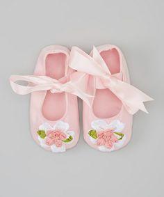 Look what I found on #zulily! Pink Jessica Mary Jane by Truffles Ruffles #zulilyfinds