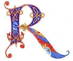 On-line classes, Calligraphy, Illuminated letters, Fantasy Art Arabic Calligraphy Art, Calligraphy Letters, Calligraphy Classes, Calligraphy Tutorial, Illuminated Letters, Illuminated Manuscript, Lettering Design, Hand Lettering, Illumination Art