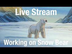 Tutoriales de Animación | Osos de Aaron Blaise | Notodoanimacion.es Cgi, First Animation, Back To Work, Polar Bear, Character Design, Krystal, Studio, Live, Youtube