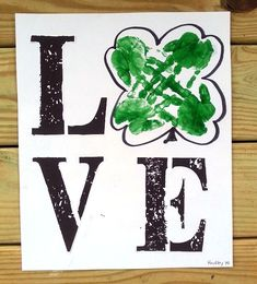 love-shamrock-st-patricks-day-canvas-kids-craft-.jpg (557×615)