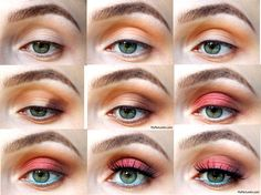 Red Eye Shadow Makeup Tutorial. See more on MyFavLooks.com