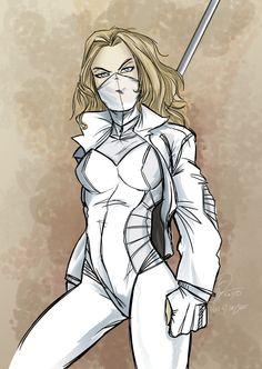 White Canary (Sara Lance) - Art by Loc Nguyen White Canary Dc, Team Arrow, My Superhero, Dc Legends Of Tomorrow, Fandoms, Marvel Women, Green Arrow, Dc Heroes, The Cw