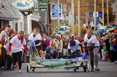 Maine Bed Racing, Whoopie Pie and Lobster Festivals in 2015 - See more at: http://newenglandtravelnews.blogspot.com/2015/01/maine-bed-racing-whoopie-pie-and.html #maine #lobsterfestival #whoopiepiefestival