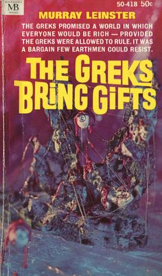 THE GREKS BRING GIFTS book cover