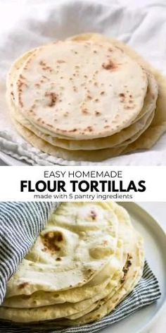 There is nothing like the taste of homemade corn tortillas! They taste much better and fresher than store-bought tortillas. With the Cast Aluminum tortilla press, you can make homemade tortillas in no time. Easy Tortilla Recipe, Corn Tortilla Recipes, Recipes With Flour Tortillas, Fresh Tortillas, How To Make Tortillas, Homemade Flour Tortillas, Vegan Tortilla, Corn Tortilla Quesadilla, Corn Flour Tortillas
