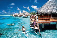 Dream Honeymoon: Tahiti! Travel Snapshot: Tahiti | Wedding Planning, Ideas & Etiquette | Bridal Guide Magazine