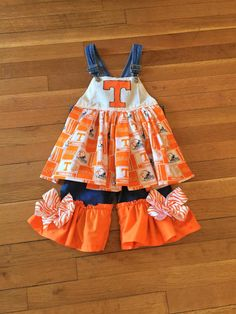 Size 2 Tennessee volunteers overalls.