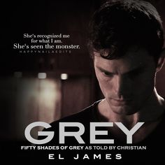 happynaila: She's recognized me for what I am. She's seen the monster. 50 Shades Freed, Fifty Shades Series, Fifty Shades Movie, Fifty Shades Darker, Cristian Grey, 50 Shades Trilogy, Shades Of Grey Book, Crying My Eyes Out, Frases
