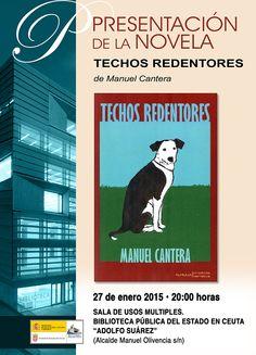 Presentación de Techos redentores de Manuel Cantera