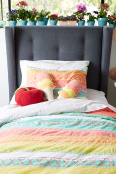 A colorful bed for kids of any age...