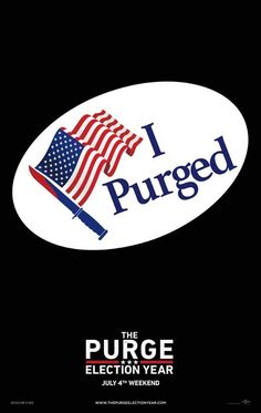The Purge: Election Year (2016) 27x40 Movie Poster