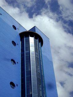 custard factory, Birmingham, UK by *Nom & Malc, via Flickr #England Custard Factory, Yellow Photography, Birmingham England, West Midlands, Industrial Revolution, Stunning View, Modern Industrial, Mustard Yellow, Printmaking
