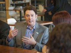 N.C. congressional candidate Clay Aiken stops in Fayetteville, Fort Bragg