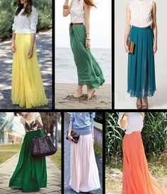 Come indossare la gonna lunga, consigli e idee