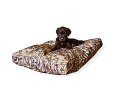LOVE this camo dog bed! it will be in my dog corner :)