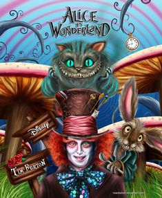 Wonderland by Mareishon.deviantart.com on @deviantART