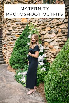 It can be hard to feel cute when you're pregnant. Today I'm sharing my favourite maternity outfits and the best tips and ideas for picking an outfit for your maternity photo shoot. Head to the blog to learn more. | summer outdoor maternity photography ideas, casual outdoor maternity pictures, #pregnant #maternity #maternitywear #maternitydresses Maternity Photography Outdoors, Photography Ideas, Outdoor Maternity Pictures, Stylish Jackets, Maternity Outfits, Love Her Style, Pregnancy Photos, Photo Sessions, Fitness Fashion