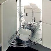 Clever Kitchen Storage Ideas - Half carousels Bournemouth, Poole & Christchurch, Dorset