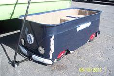 Explore Jeff Mcallister's photos on Photobucket. Custom Radio Flyer Wagon, Radio Flyer Wagons, Vw Bus, Volkswagen, Festival Trolley, Vw Wagon, Combi T2, Baby Trolley, Kids Wagon
