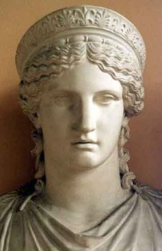 Hera (Juno) - Wife and sister of Zeus, daughter of Rhea and Cronus, Goddess of women and marriage