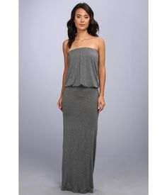 afefe4034d8 Glam out in comfort with a gorgeous maxi dress.. Strapless jersey maxi  dress with