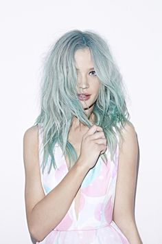 I love this hair color! #turquoisehair #mermaidhair #hairinspo