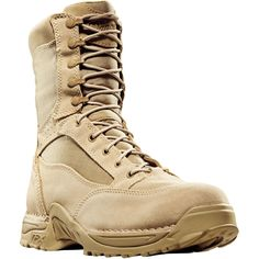 26014 Danner Men's Desert TFX Uniform Boots - Tan