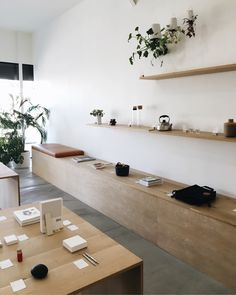 Quiet sunday shop - formerlyyes in 2019 Retail Interior, Cafe Interior, Shop Interior Design, Retail Design, Store Design, Interior And Exterior, Concept Shop, Store Interiors, Decoration