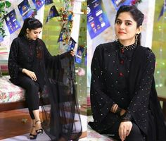 Simple Pakistani Dresses, Pakistani Dress Design, Pakistani Outfits, Indian Dresses, Kurta Designs Women, Blouse Designs, Salwar Designs, Dress Designs, Pakistan Bridal