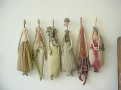manon gignoux's work is stunningly beautiful. she takes textiles to another level Fabric Dolls, Fabric Art, Paper Toy, Art Textile, Textile Artists, Textiles, Little Doll, Soft Dolls, Soft Sculpture