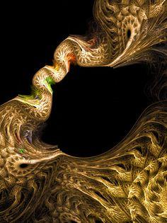antari bridge: pure fractal flame by Cory Ench