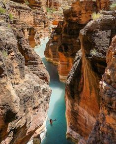 Supai, Arizona, USA- hike the extra 16 miles down the confluence of the Colorado River