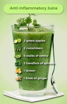 Terrific Pictures Anti-Inflammatory Juice uses 2 green apples, 2 cucumbers, 4 stalks of celery, 2 . Popular Plant Smoothie Recipes Once you think of rattles, you probably frequently consider fruit smoothies. Healthy Juice Recipes, Juicer Recipes, Healthy Detox, Healthy Juices, Healthy Smoothies, Healthy Drinks, Healthy Eating, Detox Juices, Green Juice Recipes