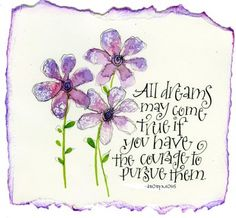 Walt Disney quote! for you girls...@Nikki Amundsen, @Alexandra Ring