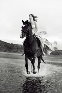 galloping through th
