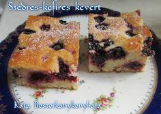 Szedres-kefires kevert süti (Gluténmentesen is) recept foto