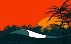Wave Series by Tom Veiga