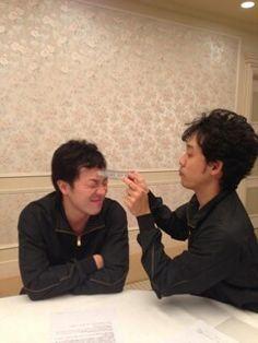 大泉洋&音尾琢真 Japanese Men, Actors & Actresses, Entertaining, Guys, Couple Photos, Couple Pics, Men, Sons, Funny