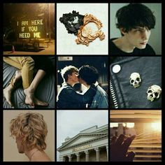 Percy Jackson Aesthetics SOLANGELO Will Solace and Nico di Angelo by Camy Malfoy